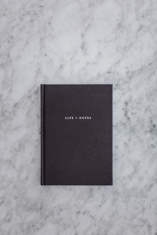 Life + Notes journal by the grace files