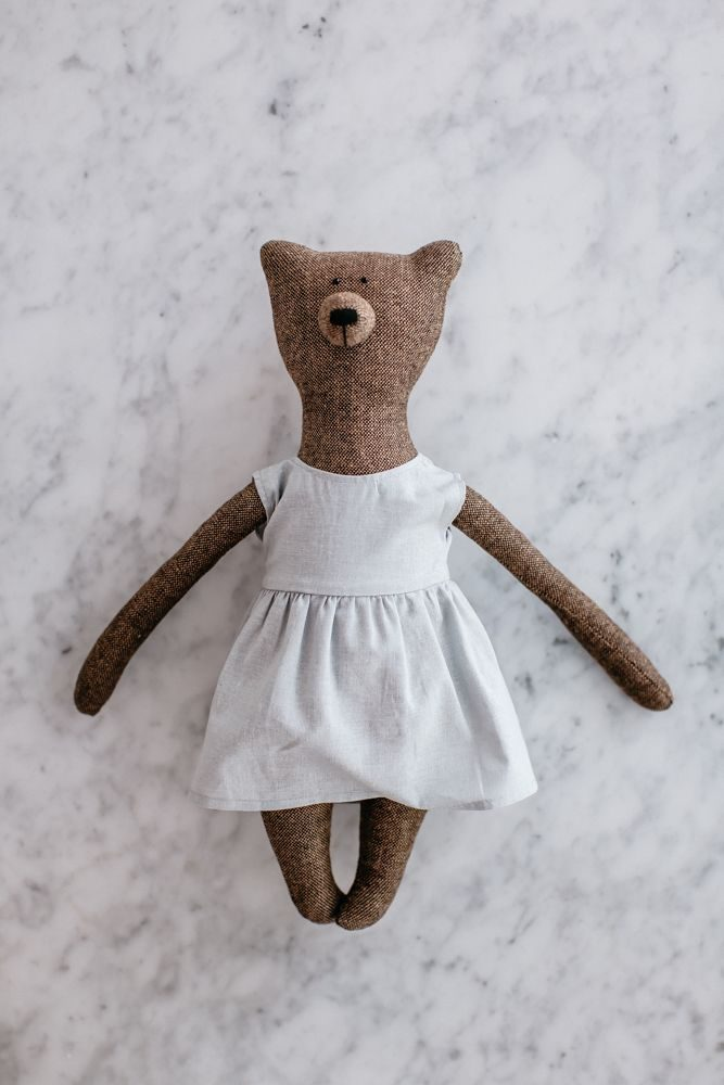 Grace Bear, brown, by the grace files