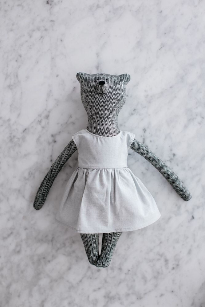 Grace Bear, grey, by the grace files