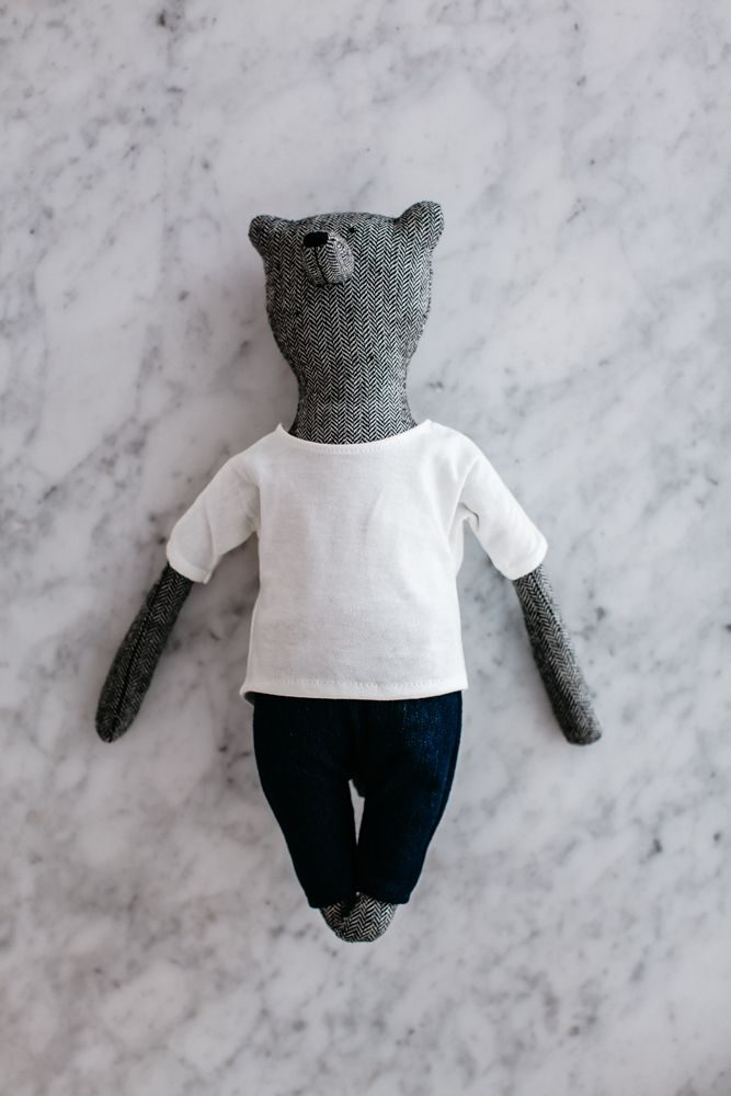 Henry Bear, grey, by the grace files