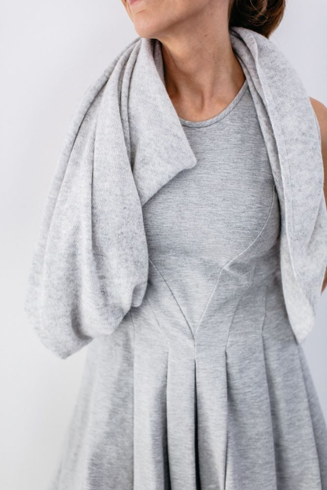How to wear your Cashmere Hug • gift by the grace files