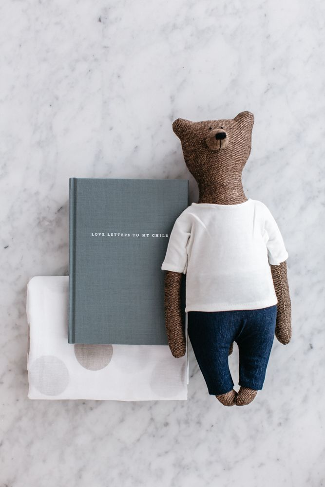 Image of The Grace Files Bear + Love Kindness Kit by The Grace Files, a thoughtful new parent gift.