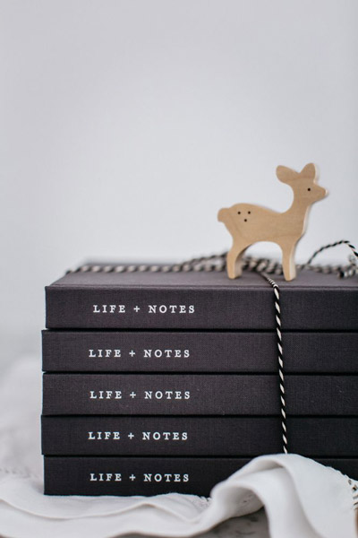 Life + Notes, a journal by The Grace Files