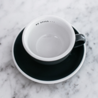 Be Still Cup and Saucer