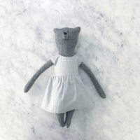 Grace Bear - Grey