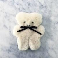 Flat Out Bear - Milk Coloured