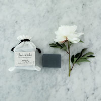 The Grace Files Bergamot, clary sage and activated charcoal soap