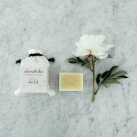 The Grace Files olive oil and goats milk soap