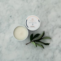 The Grace Files Strawberry and Champagne candle