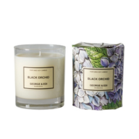 The Grace Files Black Orchid Candle