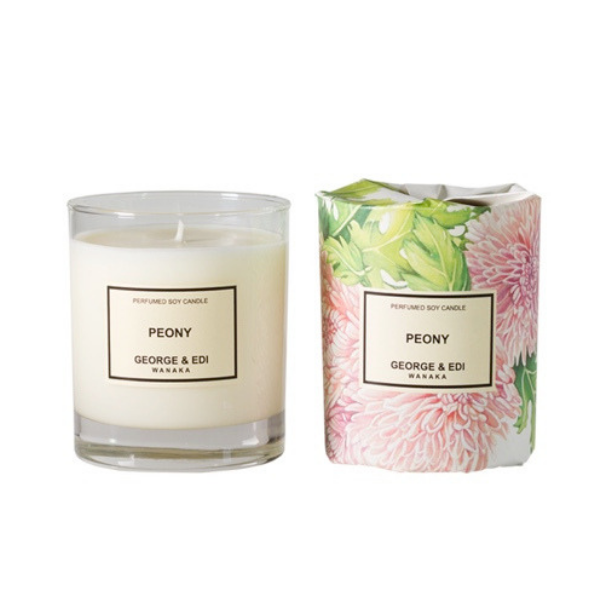 The Grace Files peony candle