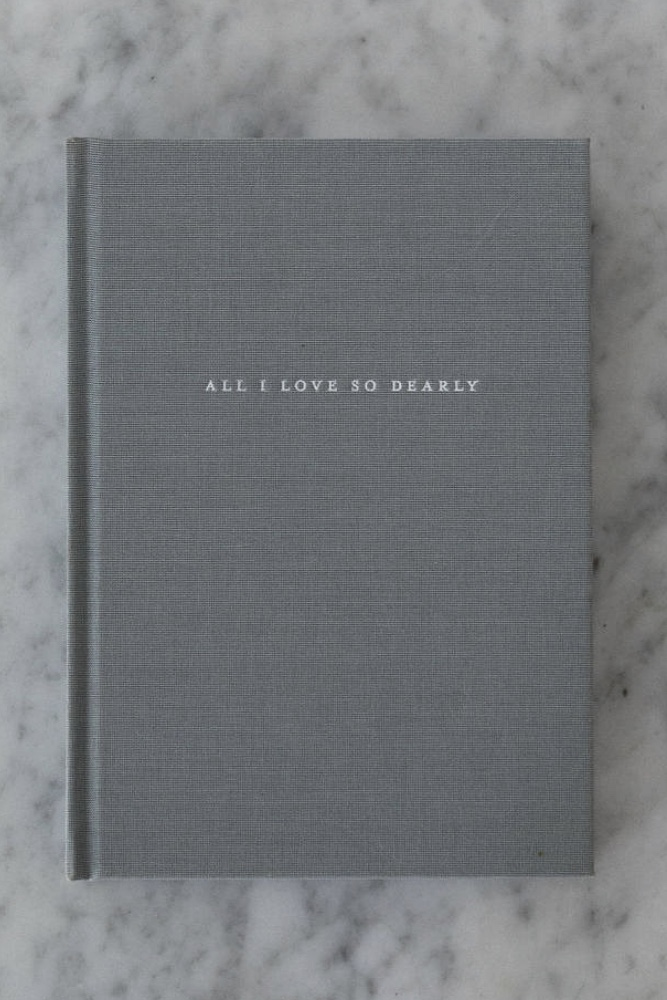 All I Love So Dearly - Unboxed (minimum order of 10 journals - any combination of titles)