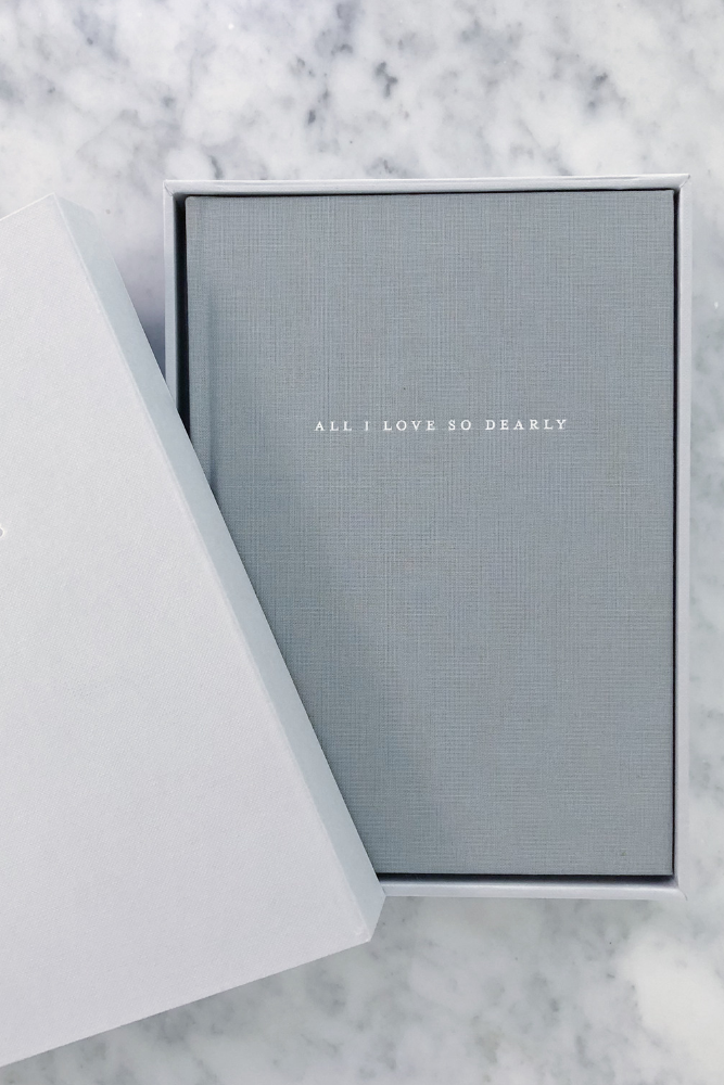All I Love So Dearly - Boxed (minimum order of 10 journals - any combination of titles)