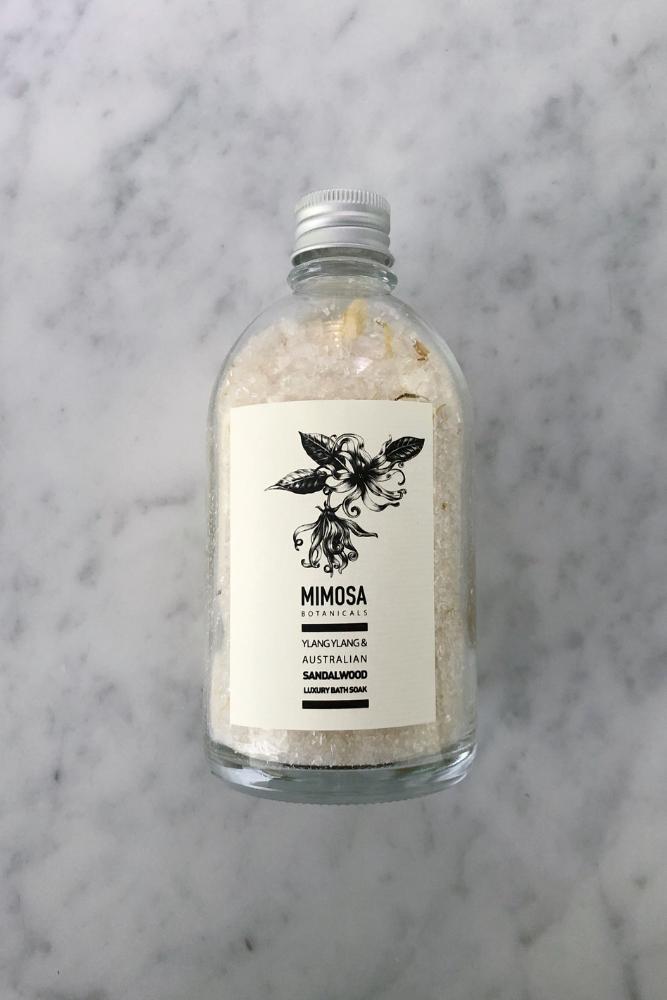 Ylang Ylang & Australian Sandalwood bath salts